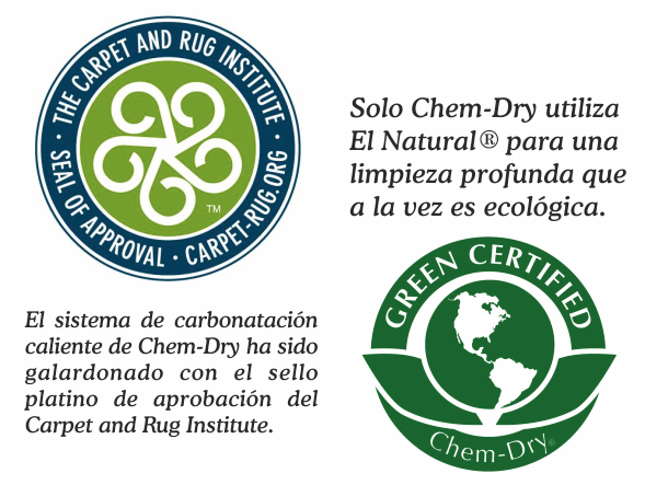 Ventajas de Chem-Dry